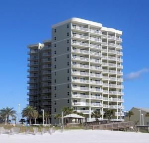 Tradewinds 007 Condo Rental in Orange Beach South Elevation